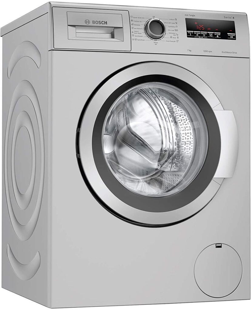 Bosch 7 Kg Fully automatic front loading washing machine with in-built Heater