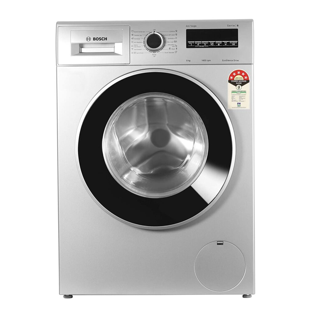 Bosch 8Kg Fully Automatic Front Loading Washing Machine Review