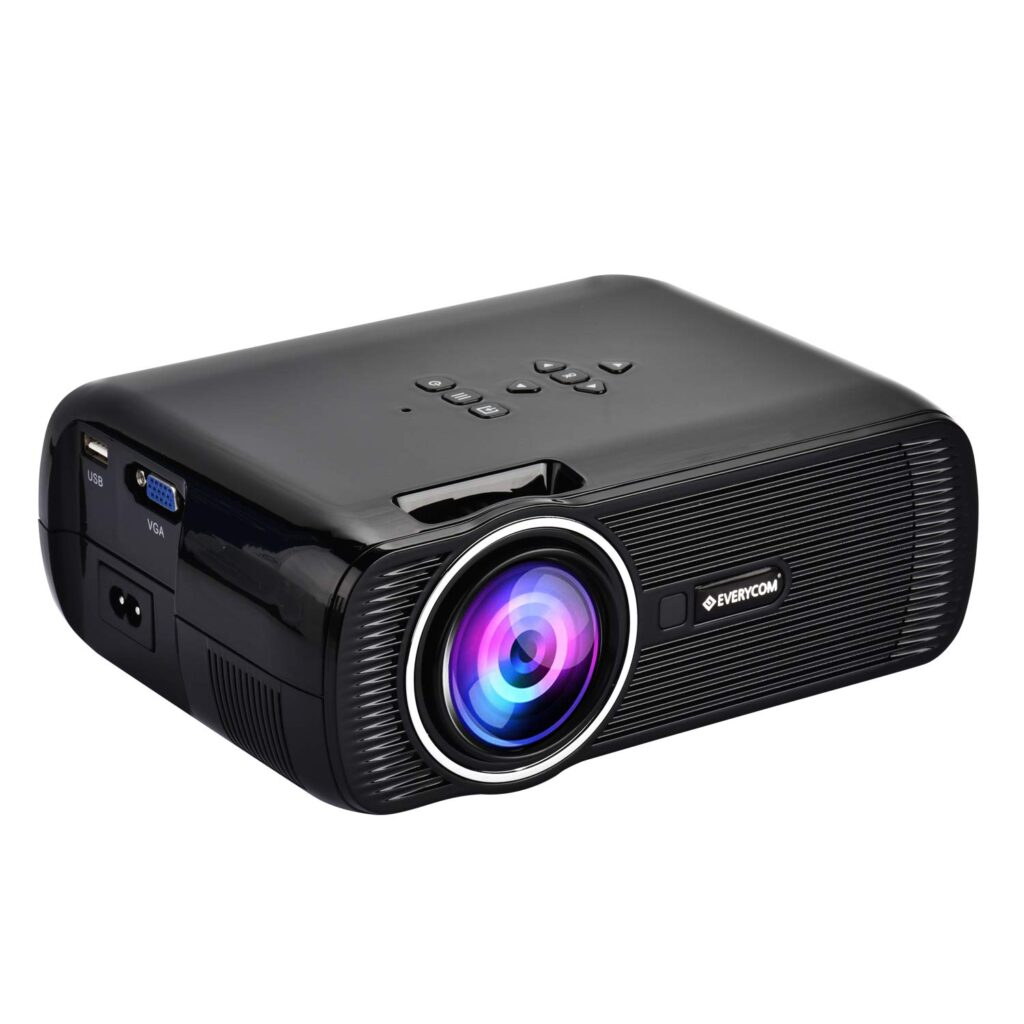 Everycom X7 LED PRojector for home