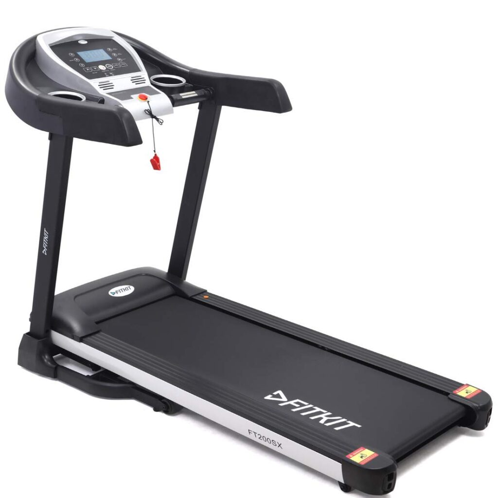 Fitkit Motorized Treadmill with auto incline feature