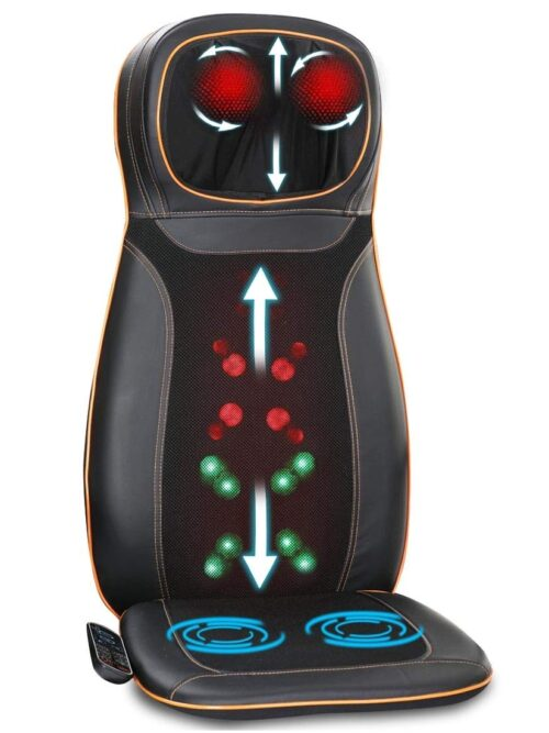 Best Back Massager with Heat for Chair 2021