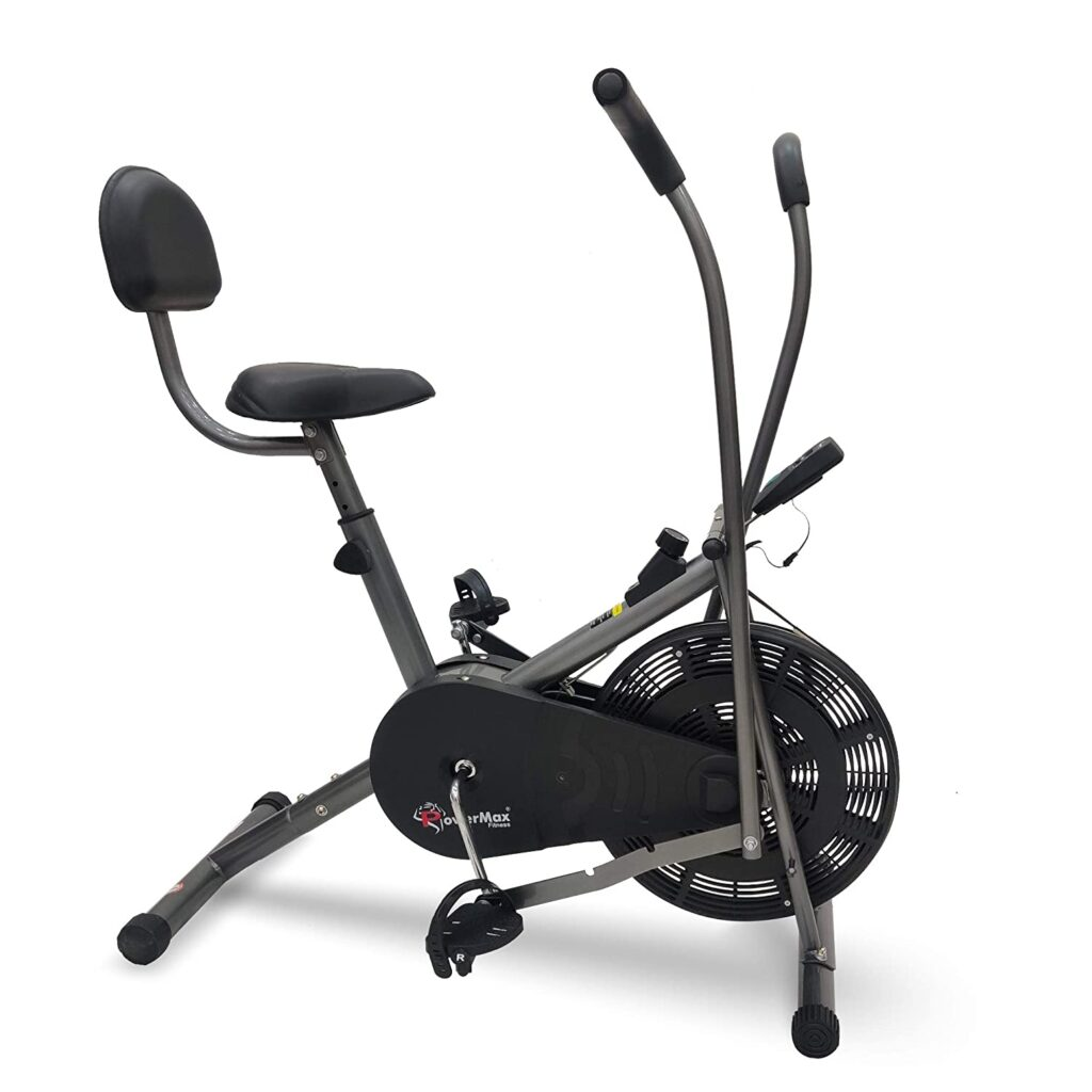 PowerMax Fitess BU-201 Dual Action Exercise cycle with Back Support System