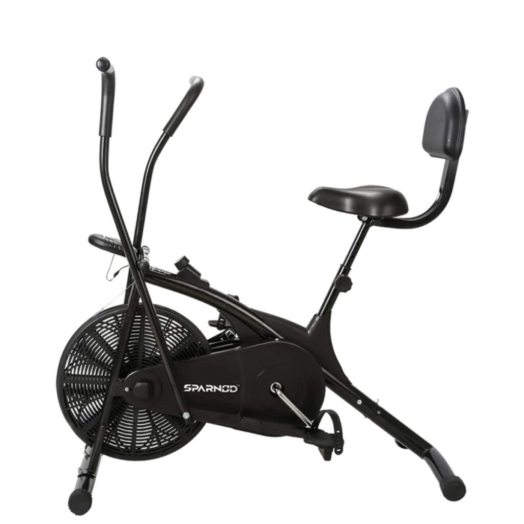 Sparnod Exercise cycle for home use  with back support system