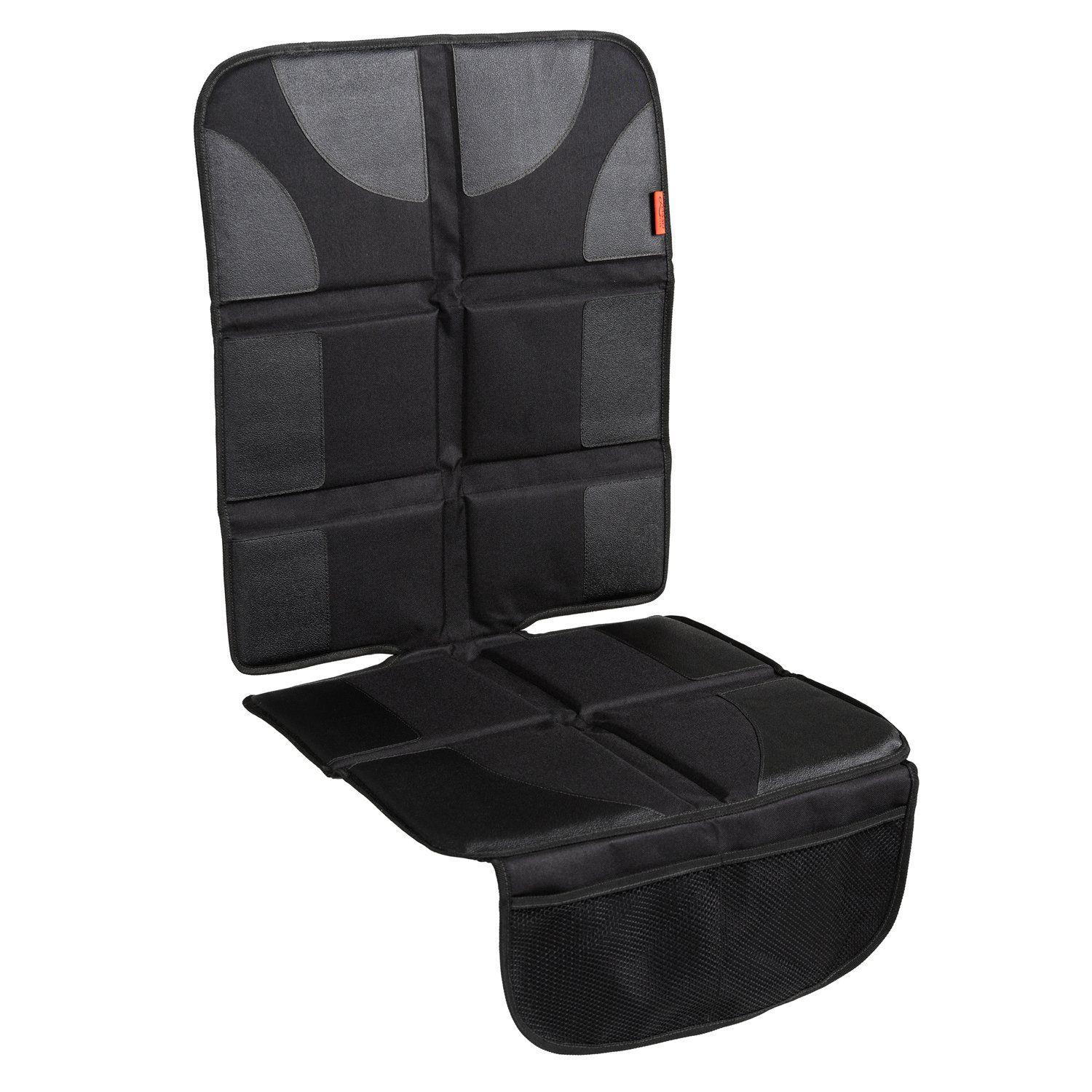 Car seat protector for leather seat