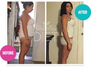 smoothie diet before and after